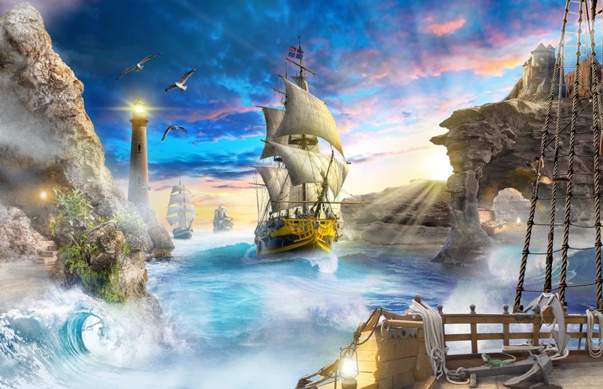 корабль с богатством фото фрески массовые бои