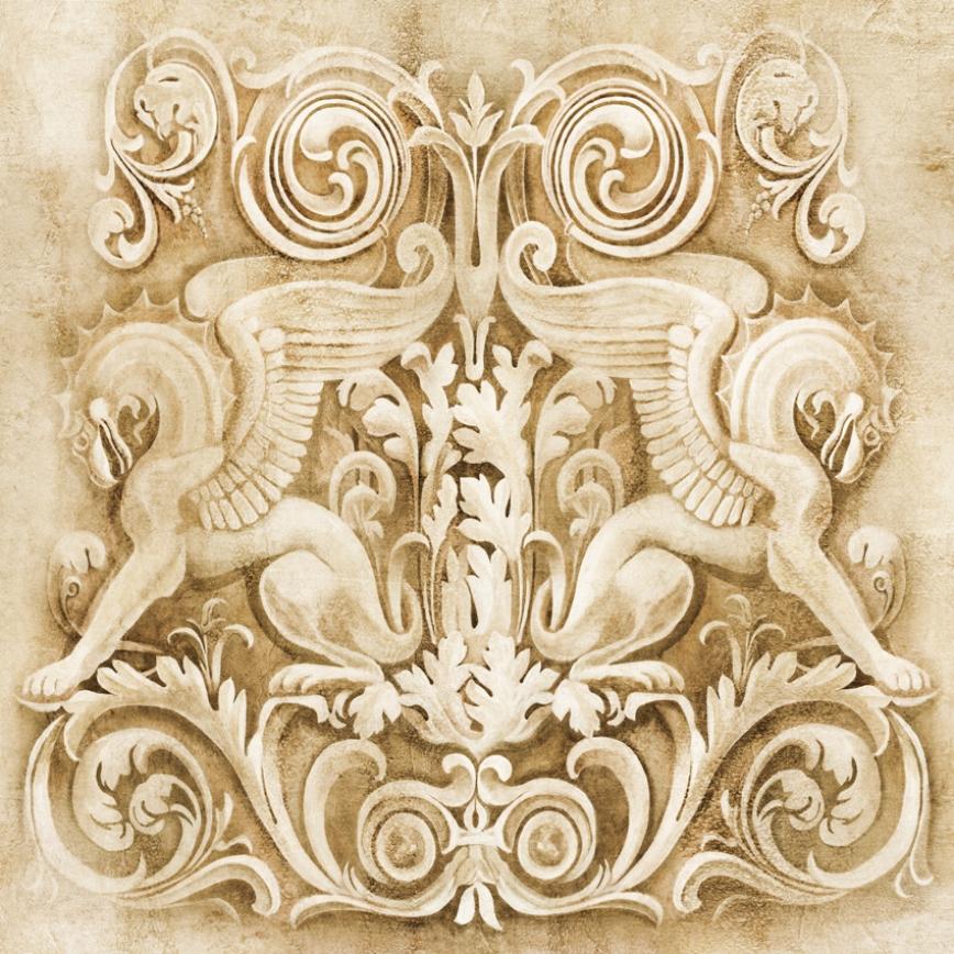 фотообои на стену панно в романском стиле матки при эритроплакии